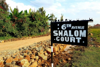 plots for sale Shalom Court Ruiru - Corner